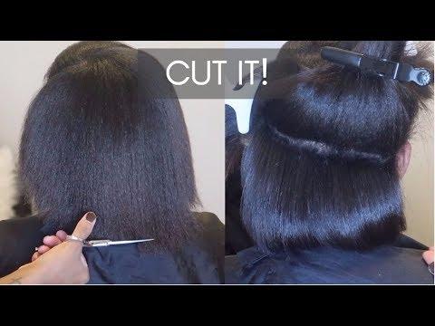 Starting a HEALTHY HAIR JOURNEY #SalonWork