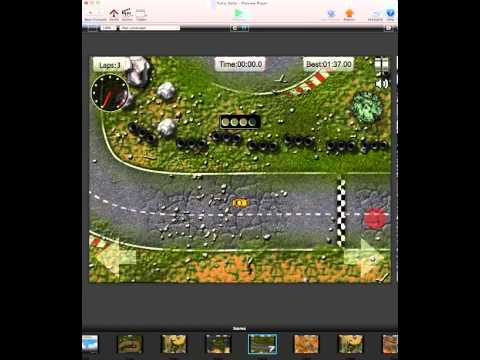 Nitro Rally - Full Racing Game Template GameSalad