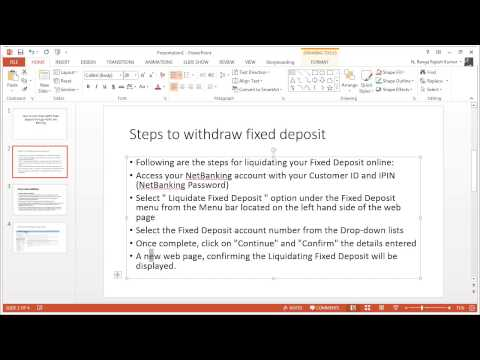 How to break or withdraw HDFC Fixed deposit through netbanking