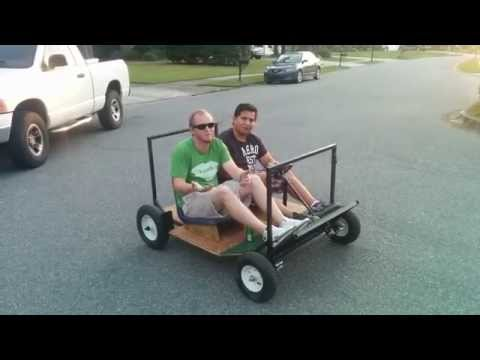 How to build a red bull Soap box Car and Place ( TMNT party Wagon XXL )