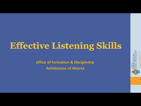 Effective Listening Skills—Learn Ten Principles to Sharpen Your Listening Skills