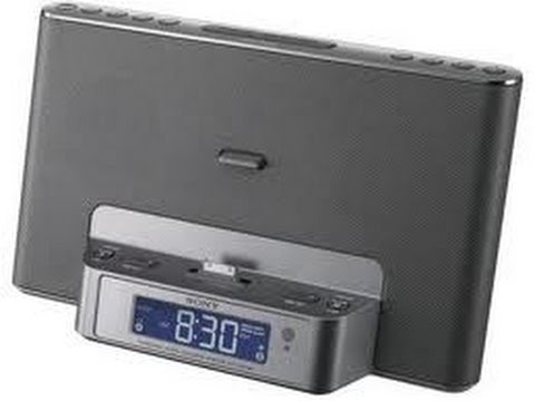 Sony ICF-CS15iP Speaker Dock / Clock Radio Unboxing