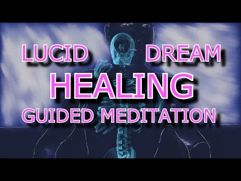 GUIDED MEDITATION SLEEP Lucid dreaming for healing