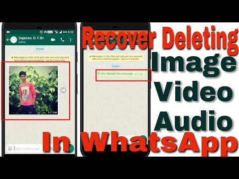 How To Recover WhatsApp Image , Video , Audio & Vioce Note After Deleting In  / WhatsApp New Tricks