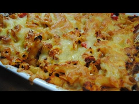 BBQ CHICKEN PASTA BAKE - Student Recipe