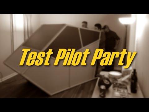 Flight Sim Pod: Test Pilot Party