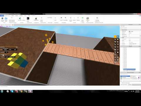 ROBLOX: How-to/Tutorial How to make a Bridge [BEST, 2014, VOICE] HD