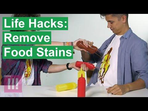 Ben Hart's Life Hacks: Remove Food Stains