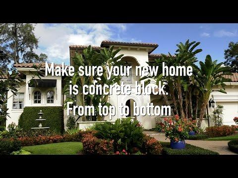 "Florida Concrete Block Homes – ""Stormy Skies"""