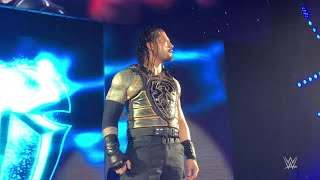 Roman Reigns comes to brawl in Belfast