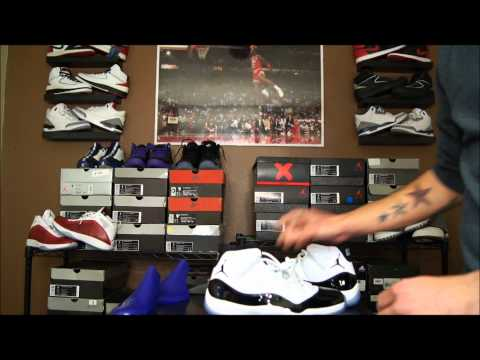 Air Jordan XI (11) Retro Concord 2011 Review & Giveaway