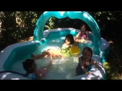 Mary's Babies Playing in Pool