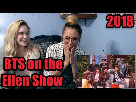 BTS on the Ellen Show (2018) Reaction!