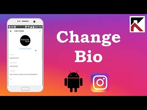 How To Change Instagram Bio Android 2018