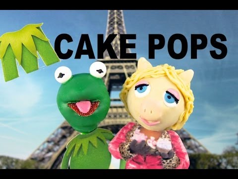 MUPPETS CAKE POPS! Make Kermit & Miss Piggy MUPPETS CakePops with Cupcake Addiction