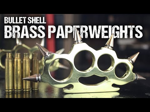 How To Make Brass Knuckles, From Bullet Shells