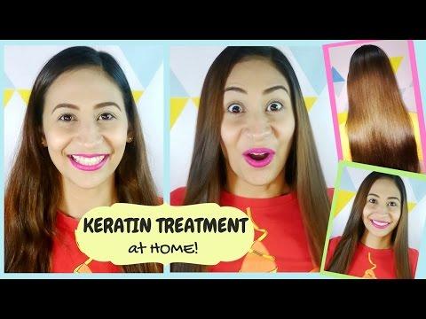 DIY Cheap Keratin Treatment At Home | Lolly Isabel