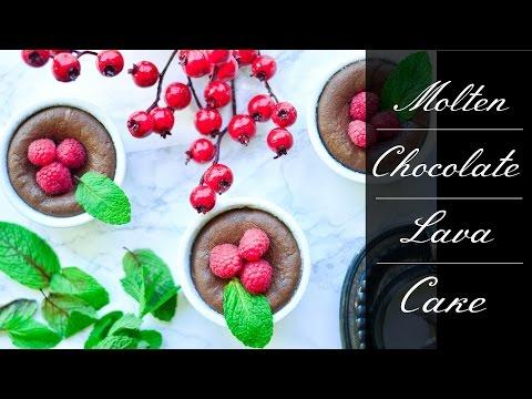 Easy Molten Chocolate Lava Cake