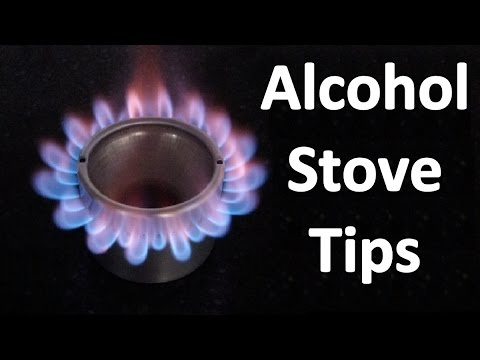 Tips for using Pot Pressurized Alcohol Stoves (Fast Prime - Avoid Cold Pot Kill) RUCAS HD