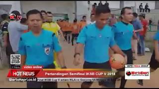 Warta Kepri Tv Saksikan Partai Final Iksb Cup V Pertemukan Ikla Vs Gonjong 5a