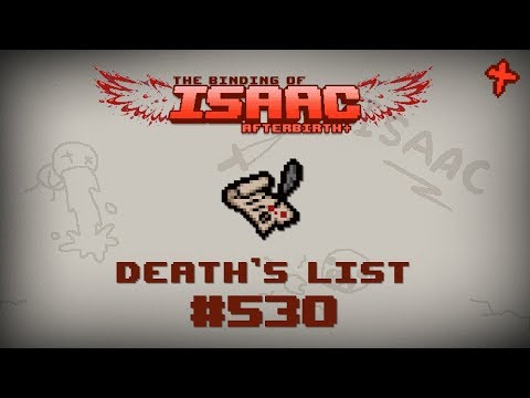 Binding of Isaac: Afterbirth+ Item guide - Death's List