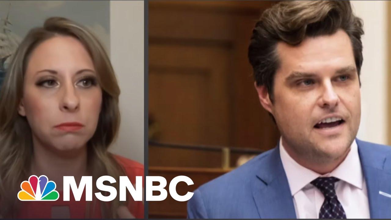 Katie Hill On Matt Gaetz: 'I Feel Betrayed By Him' | All In | MSNBC