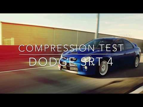 Dodge SRT4 how to do a compression test