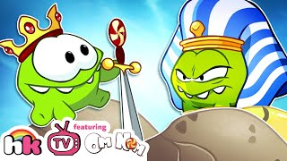 Cartoon | Om Nom Stories: The Middle Ages | Funny Cartoons For Children | HooplaKidz TV