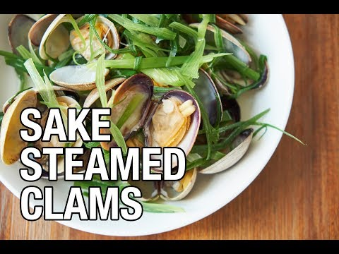 Sake Steamed Clams | Belly on a Budget | Episode 11