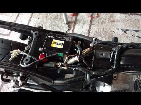 Honda CM400T Cafe Racer Build PART 8 - Electrical