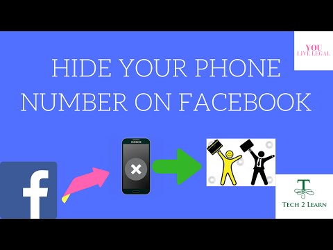 Hide/Invisible Your Phone/Mobile Number On Facebook (Easily) [Urdu/Hindi]-2017