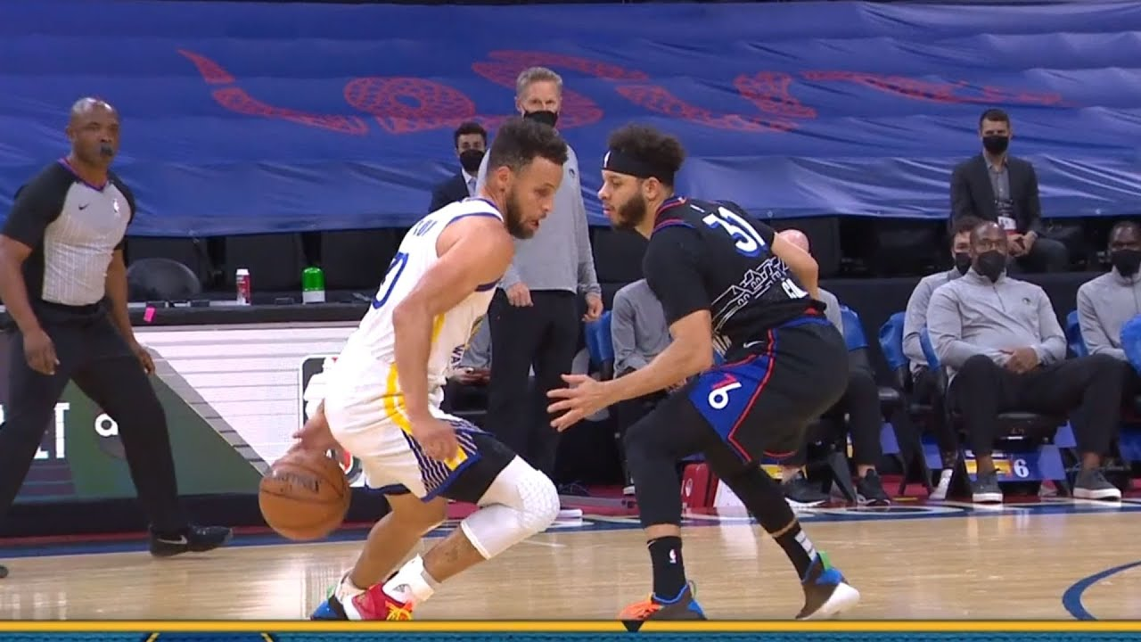 Stephen Curry Takes It Personal & Hits Buzzer Beater Over Brother Seth Curry