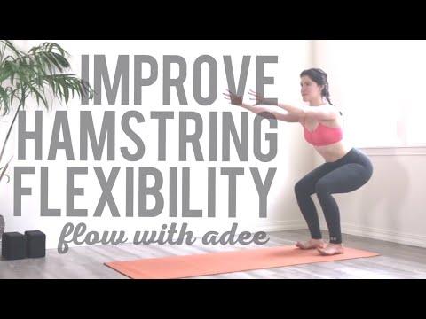 Improve Your Hamstring Flexibility   Follow Along!