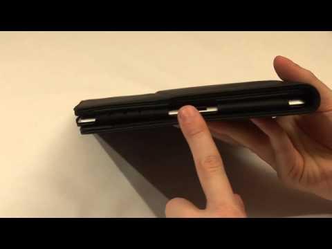 TeckNet iPad 2 Advance Multi-Function Leather Case / Cover / Stand / Flip Case With Sleep Sensor