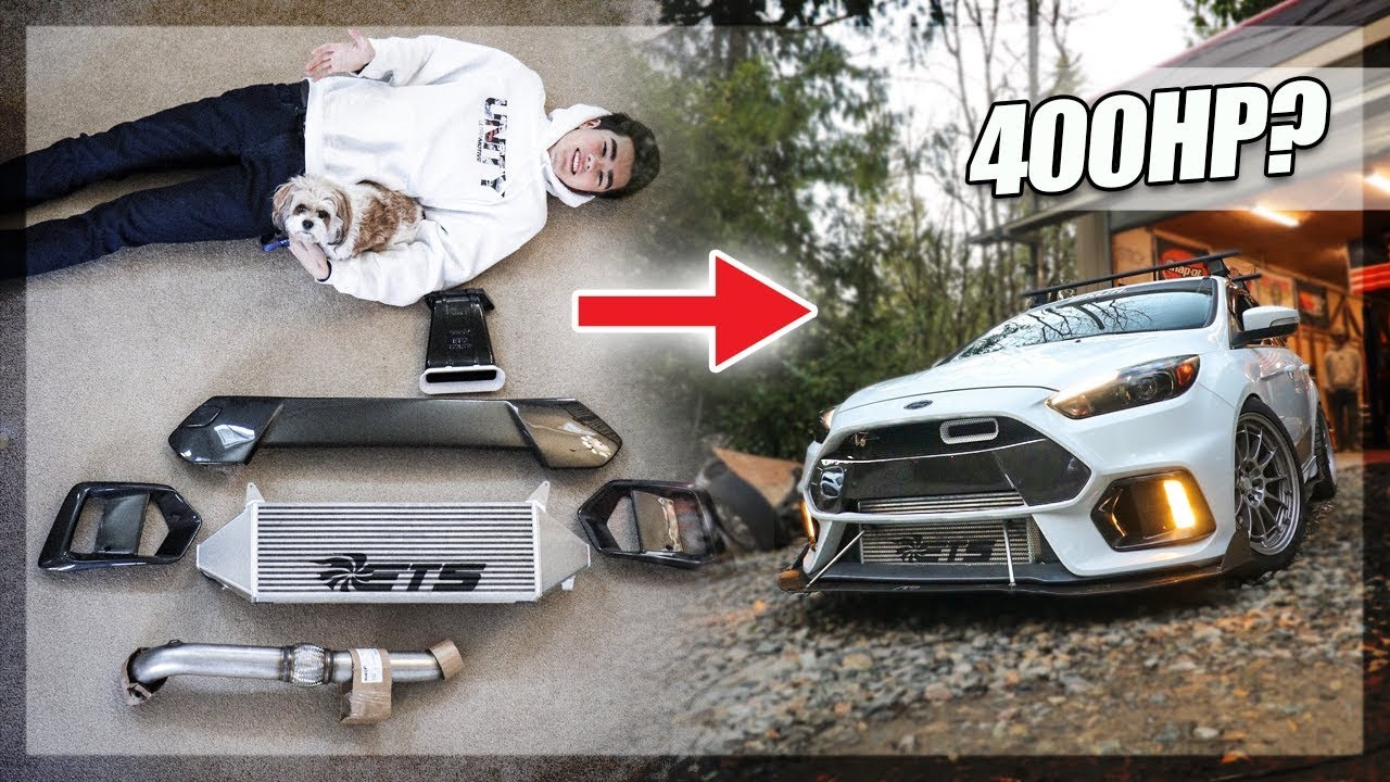 My Focus RS Gets LOADED with MODS! More Power & Stage 2+ Tune