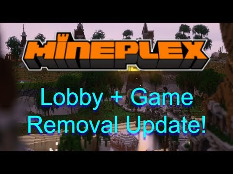 Everything You Need To Know About The Mineplex Lobby Update