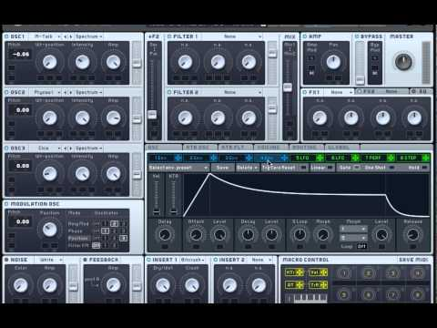 NI Massive Tutorial : How to make the Flux Pavilion Synth