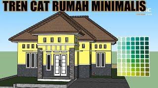 Warna Cat Luar Rumah Yang Cantik - Inspirasi Dekorasi Rumah