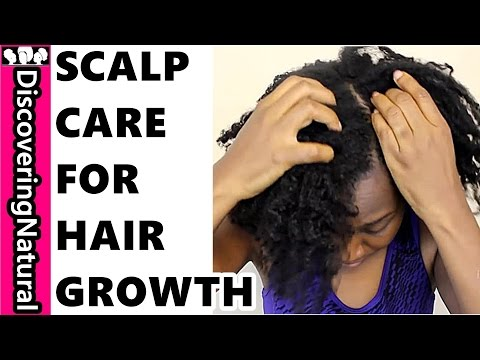 How to CARE FOR YOUR SCALP | HEALTHY NATURAL HAIR GROWTH