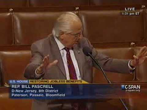 Rep. Pascrell Speaks For UI Extension