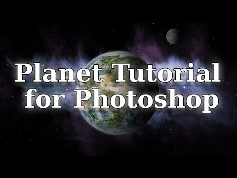 Planet tutorial for Photoshop