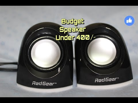 Redgear Mini 2.0 USB Speakers | Unboxing and Sound test | Best Budget Speakers for Laptop and Mobile