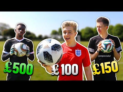 £500 Jabulani v £150 Brazuca v £100 Telstar   World Cup Ball Battle