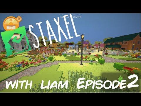 Staxel Building a Barn! : Episode 2