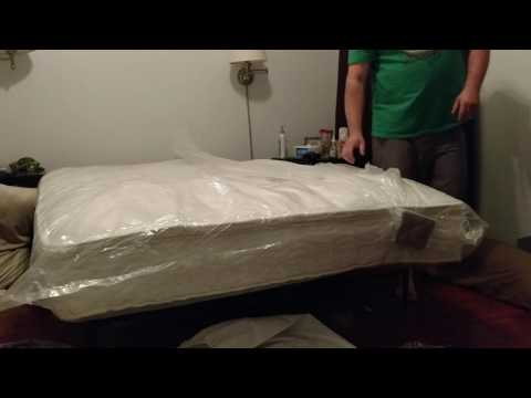 Unboxing Zinus Sleep Master Ultimate 12inch queen mattress