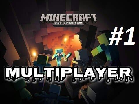 Minecraft Pocket Edition po polsku - gramy na MULTIPLAYER! [Build Battle, Sky Wars #1]