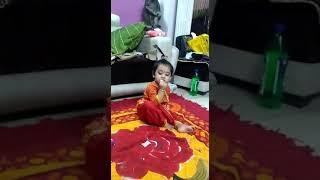 Cute little krishnaa