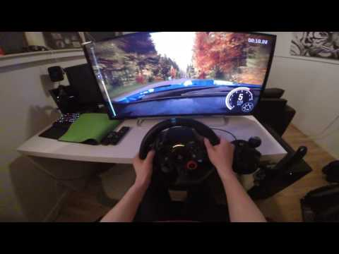 Dirt Rally PS4 Gameplay #4 POV G29