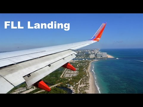 Landing & Taxi at Ft. Lauderdale (FLL) :: 737-700 :: Southwest Airlines