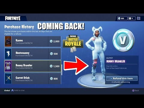 THE REFUND FEATURE FINALLY IS COMING BACK TO FORTNITE! (RELEASE DATE CONFIRMED)